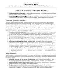 sample executive summary resume sales resume example executive