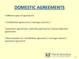 cohabitation agreement template law on the webcohabitation