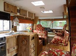 motor home interiors vintage motorhome interior 1980 kitchen area and sofa beds flickr