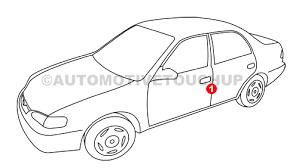 lexus paint code locations touch up paint automotivetouchup