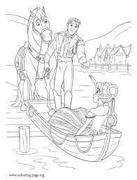 nice picture prince hans helps princess anna