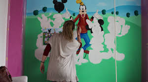 disney characters time lapse wall murals painting youtube disney characters time lapse wall murals painting