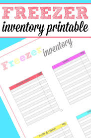best 25 freezer inventory printable ideas on pinterest meal
