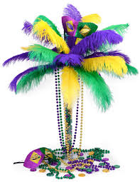 ideas by mardi gras outlet diy mardi gras feather tree