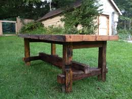 dining and kitchen tables farmhouse industrial modern reclaimed pub table