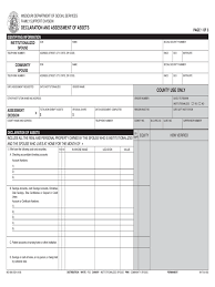 asset declaration form 3 free templates in pdf word excel download
