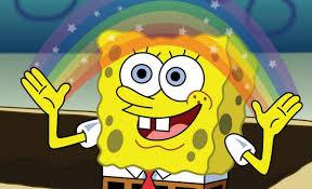 Hd Meme - spongebob imagination hd blank template imgflip