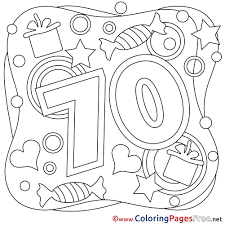 free birthday printables coloring pages happy trend in books cards