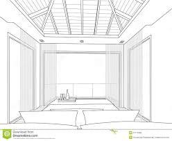 interior design bedroom sketches