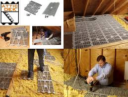 attic dek flooring system eight 8 pack 16 in on center units