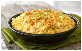 cheesy skillet scalloped corn iowa corn tour a farmgirl s dabbles