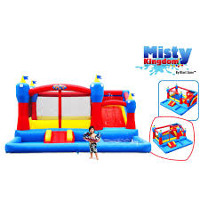 Inflatable Backyard Pools by Bounce House Water Park Backyard Outdoor Inflatable Slides Pool