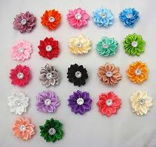 ribbon flowers satin flowers crafts ebay
