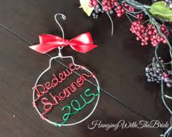 personalized dog ornament christmas gift custom name
