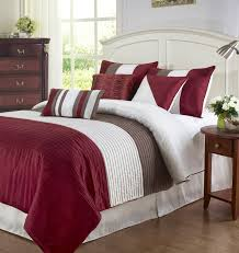 Red And Grey Comforter Sets Bedding Set Red And White Bedding Set Accessible Dark Grey