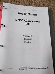 100 boxster 986 service manual porsche 911 carrera 996 1999