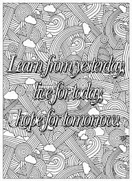 quotes coloring pages coloring pages adults justcolor