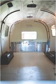 1971 airstream renovation painting the floors