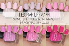 deborah lippmann summer 2016 happy days collection pretty in