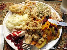 thanksgiving does not to ruin your diet or you gain
