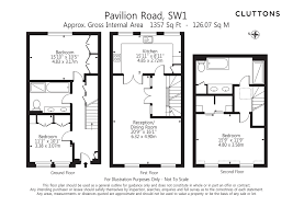 pavilion road london sw1x 3 bed mews 5 850 pcm 1 350 pw