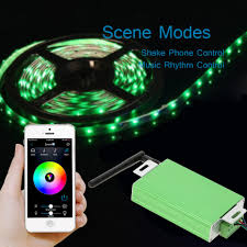 Rgb Led Light Strips by Lixada 12v 24v 30a Cellphone App Controlled Smart Remote Sales