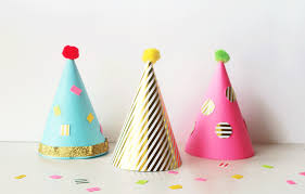 party hats diy party hats placey