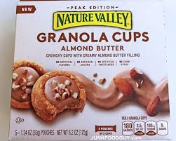 review nature valley almond butter granola cups u0026 what foods