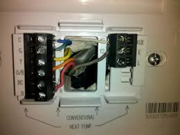 thermostat wiring help tech support forum