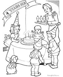 free printable birthday party color birthday