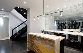 bathroom extraordinary mirrored tile backsplash with track