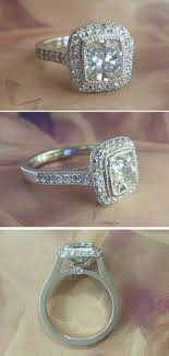 nice engagement rings images Neat and nice platinum carat vs cushion cut diamond halo jpg