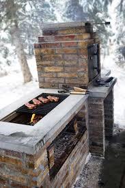Backyard Smokers Plans Cool Diy Backyard Brick Barbecue Ideas Amazing Diy Interior