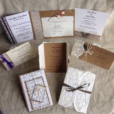 handmade wedding invitations handmade wedding invitations by carol home