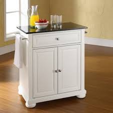 kitchen portable island white kitchen islands carts you ll wayfair