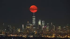 strawberry moon strawberry moon delights stargazers fox news