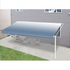 Rv Retractable Awnings Aleko 8 U0027x8 U0027 Retractable Rv Patio Canopy