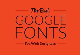 25 best web fonts for designers 2018 designorbital