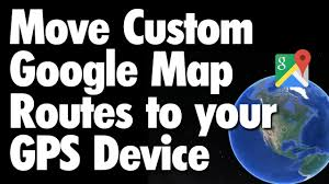 Map My Route Google by Move Google Map Routes To Your Gps Device Youtube