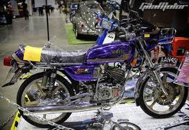 rx 135 custom bike from malaysia is pure nostalgia
