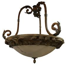 large tuscan style dome italian chandelier chairish image of