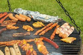 Backyard Barbecue Grills Wedding Reception Menu Idea Backyard Barbecue The Wedded Bliss