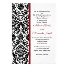 Damask Wedding Invitations Damask Invitations