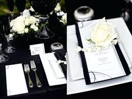 black and white table settings black white christmas table settings rippletech co