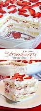 the 25 best strawberry icebox cake ideas on pinterest