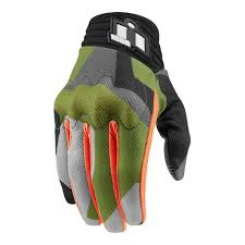 vintage motocross gloves icon racing anthem deployed camo mens street sport bike motorcycle