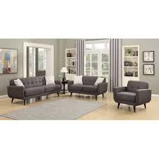 AC Pacific Crystal  Piece Living Room Set Wayfair - Three piece living room set