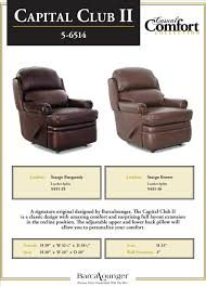 furniture comfortable choices of standard recliners amusing