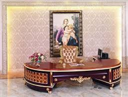 Wooden Home Office Furniture by Luxury French Baroque Style Home Office Furniture Luxury Antique
