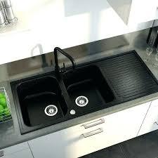evier cuisine noir 1 bac evier granit noir evier de cuisine 2 bacs evier cuisine 2 bacs gres